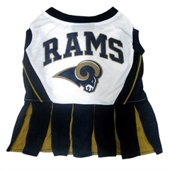 Mirage Pet Products Los Angeles Rams Cheer Leading MD
