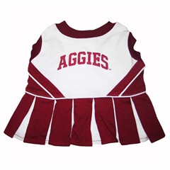 Mirage Pet Products Texas A&M Aggies Cheer Leading XS