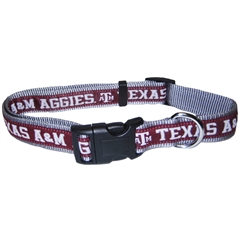 Mirage Pet Products Texas A&M Aggies Collar Small