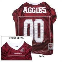 Mirage Pet Products Texas A&M Aggies Jersey Small