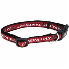 Mirage Pet Products Tampa Bay Buccaneers Collar Large