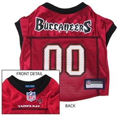 Mirage Pet Products Tampa Bay Buccaneers Jersey Small