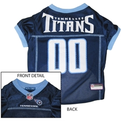 Mirage Pet Products Tennessee Titans Jersey Medium