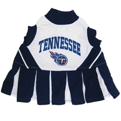 Mirage Pet Products Tennessee Titans Cheer Leading XS