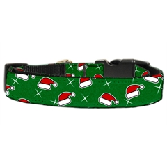 Mirage Pet Products Santa Hat Nylon and Ribbon Collars . Extra Small