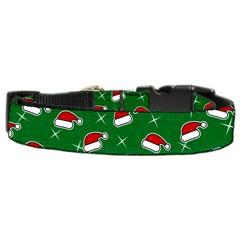 Mirage Pet Products Santa Hat Nylon and Ribbon Collars . Medium