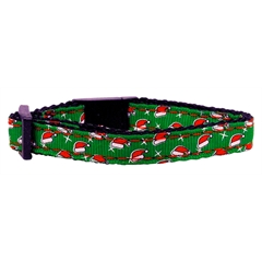 Mirage Pet Products Santa Hat Nylon and Ribbon Collars . Cat Safety