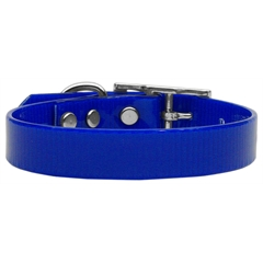 Mirage Pet Products Plain Tropical Jelly Collars Blue Med