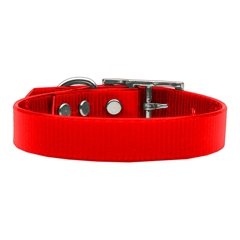 Mirage Pet Products Plain Tropical Jelly Collars Red Med