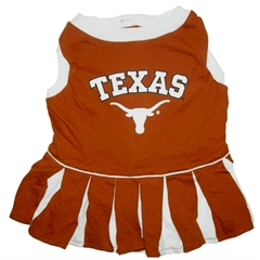 Mirage Pet Products Texas Longhorns Cheer Leading SM