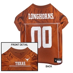 Mirage Pet Products Texas Longhorns Jersey Large