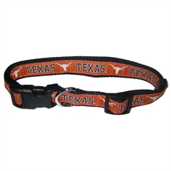 Mirage Pet Products Texas Longhorns Collar Small