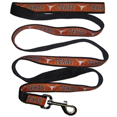 Mirage Pet Products Texas Longhorns Leash Medium