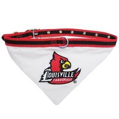 Mirage Pet Products Louisville Cardinals Bandana Large