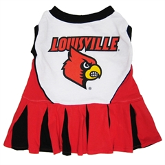 Mirage Pet Products Louisville Cardinals Cheer Leading XS