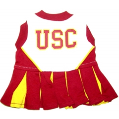 Mirage Pet Products USC Trojans Cheer Leading XS