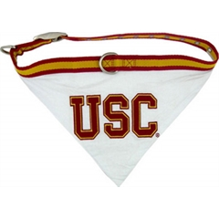 Mirage Pet Products USC Trojans Bandana Large