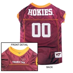 Mirage Pet Products Virginia Tech Hokies Jersey Medium