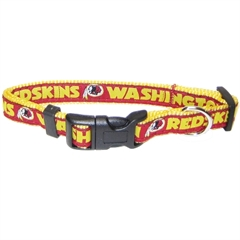 Mirage Pet Products Washington Redskins Collar Small