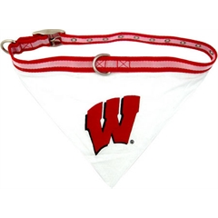 Mirage Pet Products Wisconsin Badgers Bandana Small
