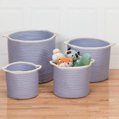 "Sonoma Basket - Purple 16""x16""x14"""