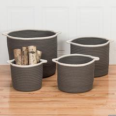 "Sonoma Basket - Grey 14""x14""x12"""