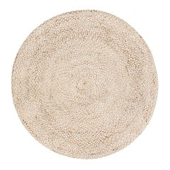 8' Round Speckled Hen Rug