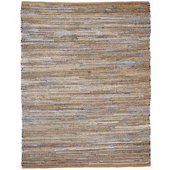 10' x 14' American Graffiti Denim & Jute Rug