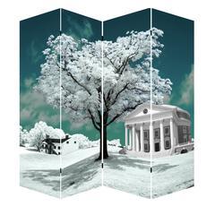 """71"""" Tree Of Life Art Canvas Room Divider"""