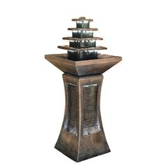 "39"" Pyramid Tiered Indoor/Outdoor Fountain"