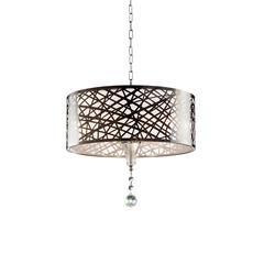 "17.5""H Array Crystal Ceiling Lamp"