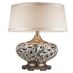 "28.75"" Kiara Silver Table Lamp"