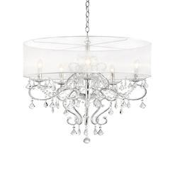 """31.5"""" Evangelia Crystal Ceiling Lamp"""