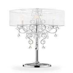 """35"""" Evangelia Crystal Table Lamp"""