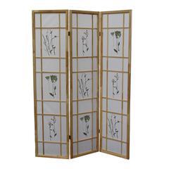3 Panel Shoji Screen - Natural