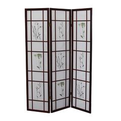 3 Panel Shoji Screen - Cherry