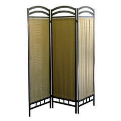 3-Panel Room Divider - Pewter