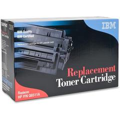 IBM Remanufactured Toner Cartridge - Alternative for HP 11A (Q6511A) - Laser - 6000 Pages - Black - 1 Each