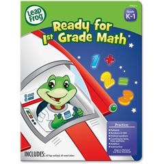 Leap Frog First-grade Math Workbook Education Printed Book for Mathematics - Book