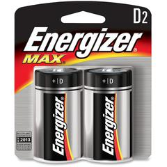 Energizer Max Alkaline D Batteries - D - Alkaline - 24 / Carton