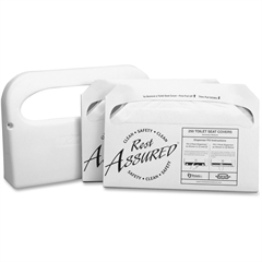 Impact Products Toilet Seat Cover Starter Set - Half-fold - 1 Each