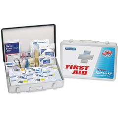 First Aid Only GSA Compliant First Aid Kit - 419 x Piece(s) For 50 x Individual(s) Height - Metal Case - 1 Each
