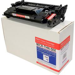 microMICR MICR Toner Cartridge - Alternative for HP 58X - Black - Laser - 10000 Pages