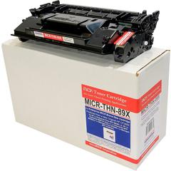 microMICR MICR Toner Cartridge - Alternative for HP 89X - Black - Laser - 10000 Pages