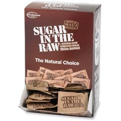 Sugar Foods Sugar In The Raw Sweetener - 0.16 oz - Molasses Flavor - Natural Sweetener - 200/Box