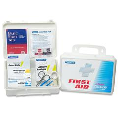 """PhysiciansCare 113-Pc Home/Office/Auto First Aid Kit - 131 x Piece(s) For 25 x Individual(s) - 7"""" Height x 10"""" Width x 3"""" Depth - Plastic Case - 1 Each"""