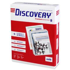 "Discovery Premium Selection Multipurpose Paper - Ledger/Tabloid - 11"" x 17"" - 20 lb Basis Weight - 0% Recycled Content - 97 Brightness - 2500 / Carton - White"