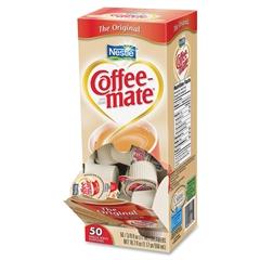 Nestle Professional Coffee-Mate Original Liquid Coffee Creamer Singles - Original Flavor - 0.38 fl oz - 50/Box - 1 Serving