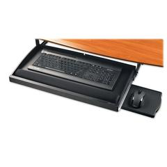 "Compucessory Under-Desk Keyboard Drawer - 2.2"" Height x 22.5"" Width x 11.8"" Depth - Black"