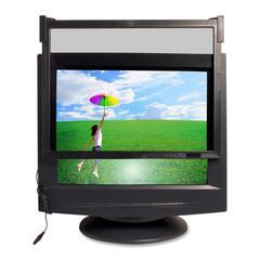 "Compucessory Premium Anti-Radiation Glare Filter Black - For 21""CRT Monitor"